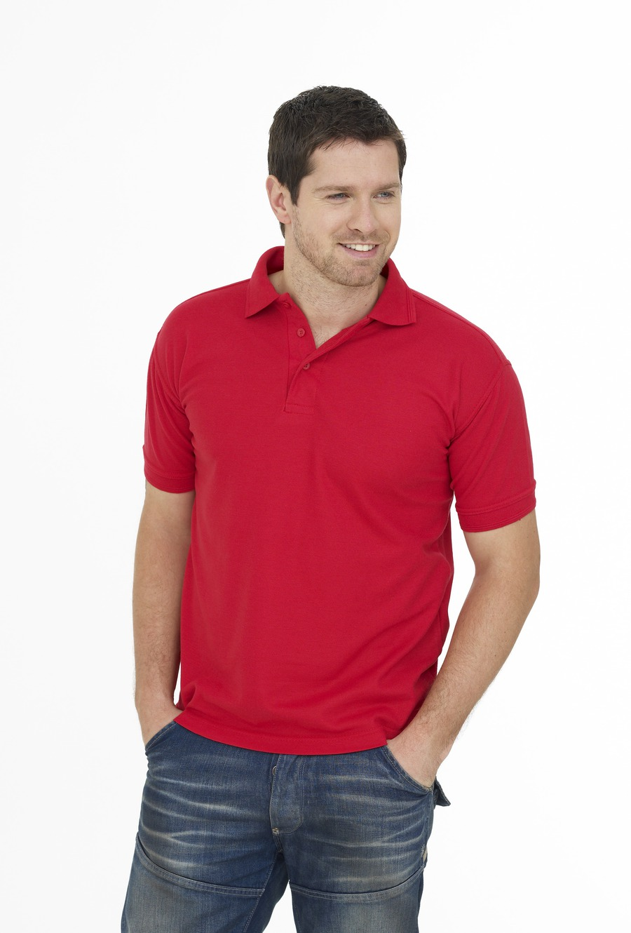 bf36251a Photo of UC109 Essential Pique Polo Shirt by Uneek Clothing