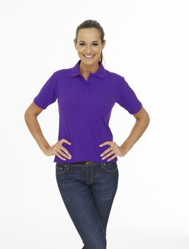 Photo of UC106 Ladies Pique Polo Shirt by Uneek Clothing
