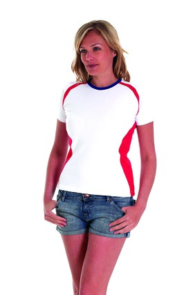 Photo of UC312 Ladies Premium Short Sleeve Union T-Shirt by Uneek Clothing
