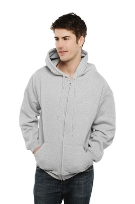 Photo of UC504 Classic Full Zip Hooded Sweatshirt by Uneek Clothing