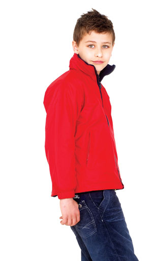 Photo of UC606 Childrens Reversible Fleece Jacket by Uneek Clothing