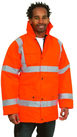 Photo of UC803 Road Safety Jacket by Uneek Clothing